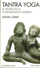 Livre tantra yoga le tantra de la connaissance suprême Daniel Odier book