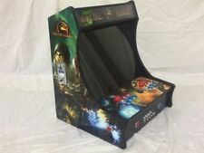"Mortal Kombat BarTop Mini 19"" Monitor Upright Arcade Game Multicade 800+ games"