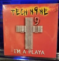 Tech N9ne - I'm A Playa CD d12 Eminem the jorkerr insane clown posse Prozak kmk