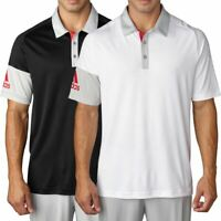 adidas CLIMACOOL SLEEVE BLOCKED LIGHTWEIGHT MENS TOUR POLO SHIRT 55% OFF