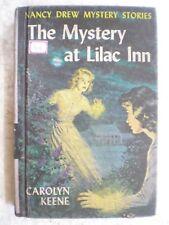 NANCY DREW THE MYSTERY AT LILAC INN RARE BOOK 1961