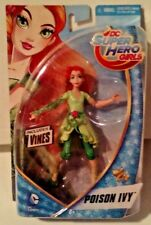 DC Super Hero Girls 6 Inch Poison Ivy includes Vines New MOSC