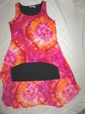 NEW! $89 harper & liv size 2X plus size womens dress multi coverup full length