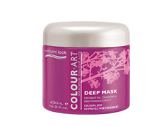 hair mask treatment natural look colourart deep mask 400g