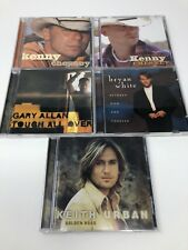 Country Music Lot of 5 CDs - Kenny Chesney, Keith Urban, Gary Allan and More