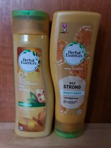 Herbal Essences Bee Strong Shampoo & Conditioner with Honey Essences 400ml New