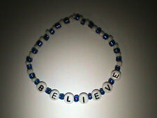 Penn State Nittany Lions beaded bracelet believe
