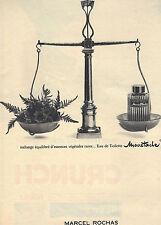 PUBLICITE  1966   MARCEL ROCHAS  eau de toilette MOUSTACHE