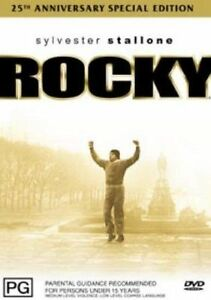 Rocky DVD Sports Drama Boxing - REGION 4 AUSTRALIA - Sylvester Stallone
