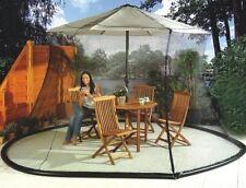 Umbrella Mosquito Net Mesh Grid Parasol Cover Bug Fly Garden Patio Table Outdoor