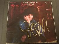 JUDY COLLINS SIGNED AUTOGRAPHED LP RECORD ALBUM TRUE STORIES RARE