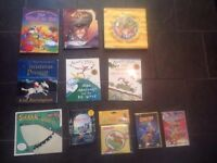 9 x BOOKS 2 x New DVD's Scooby Doo Quentin Blake Mrs Armitage Wind In The Willow