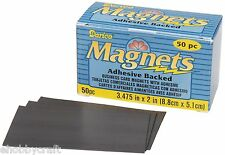 Business Card Magnet Adhesive Backed, Flexible, Box of 50 pcs