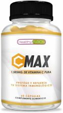 Vitamina C 1.585mg | Protege y refuerza el sistema inmunológico | 60 cápsulas