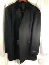 Ralph Lauren Men's Navy Blue Soft Wool Top Coat Jacket Size 48L NWT $495+