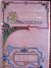 Lady Sybil's Choice  A Story of the Crusades