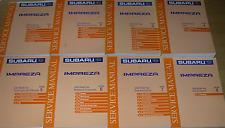 2000 Subaru IMPREZA Service Repair Shop Workshop Manual Set OEM Factory