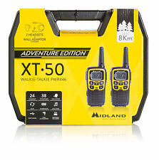 Midland XT50 Adventurer NEW licence free 2-way radio outdoor twinpack