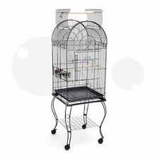 New Open Top Dome Top Cage Bird Cage Pigeon Cage Parrot Cage Plastic Tray B10