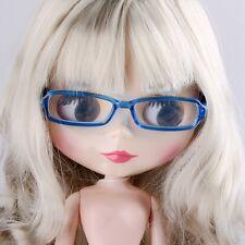 "For 12"" Neo Blythe doll Takara doll Fashion Blue Glasses Blythe doll"