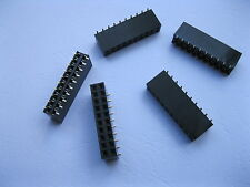 12 pcs SMD SMT 2.54mm 2x10 20pin Female Pin Header Double Row Strip Gold Plated