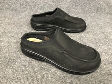 Romika Women's Size 38 US 7 - 7.5 Black Comfort Mules Clogs Slip On Shoes In EUC