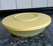 Tupperware Junge Welle Schüssel Servierschale  gelb 400 ml
