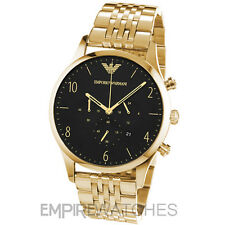 *NEW* MENS EMPORIO ARMANI BETA GOLD CHRONO WATCH - AR1893 - RRP £339.00