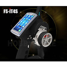 FlySky FS-IT4S Touch Screen 2.4GHz 4CH AFHDS 2A Radio System Transmitter Fr Boat