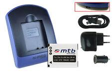 Chargeur+Batterie (USB) D-Li88 pour Pentax Optio H90, P70, P80, W90, WS80