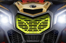 Aftermarket Steel Grille fits CanAm Maverick X3 Grill 2016+ Bricks LIME SQUEEZE