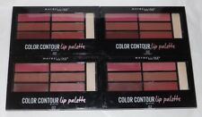4 x Maybelline Lip Palette ~ 02 Blushed Bombshell ~ Pink Gloss Lipstick Lot of 4