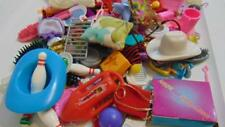Barbie  Accessories Lot 100+ Bowling cowboy hats dishes pillow hangers much more
