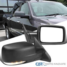 For 13-19 Ram 1500 2500 Power Heated Side Mirrors Pair+LED Signal+Puddle+Sensor
