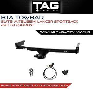 BTA Towbar Fits Mitsubishi Lancer Sportback 2011-Present Towing Capacity 1000Kg