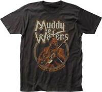 MUDDY WATERS Father Of Chicago Blues T SHIRT S-2XL New Official Impact Merch