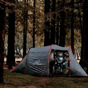 Wolf Walker Motorcycle Tent for 2-3 people, fast setup tent