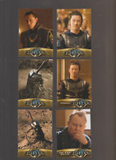 Lot of 6 Thor movie trading cards Published  2011 Marvel Upper Deck