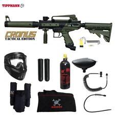 Tippmann Cronus Tactical Private Paintball Gun Package - Black / Olive