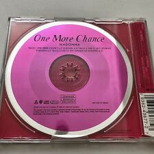 MADONNA ONE MORE CHANCE CD SINGLE Promo Rare Limited Vinyl SEX DVD Tour GHV2