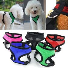 Dog Harness for Chihuahua Pug Small Dog Nylon Mesh Puppy Cat Pet Harnesses Vest