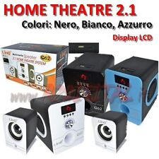 ALTAVOCES LINQ 2.1 Q62 ALTAVOCES SALÓN HOME THEATRE ORDENADOR DOLBY SURROUND