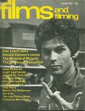 RARE - FILMS AND FILMING Magazine - March 1972 - Ken Loach - Dirty Harry Colman