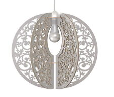 Lampadario Design Globo Floreale Lampada Sospension Soffitto Shabby Chic Country