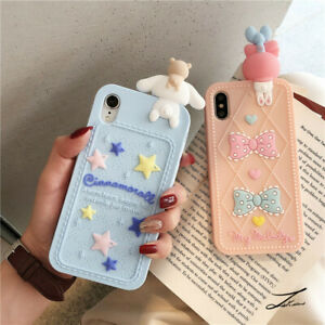 Cute cartoon Cinnamoroll Melody Silicone Case For iPhone 12 11 Pro XS Max XR 7 8