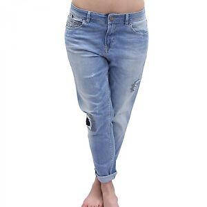 ✅Tigerhill Boyfriend Aimi Roll Up Damen Trend Jeans