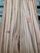 Tigerwood goncalo alves veneer inlay marquetry 2-4mm thick 540-620 x 165-210mm