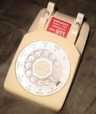 Vintage Western Electric / Bell System Tan/Beige Rotary Phone 500DM Base Parts