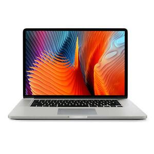 Apple Macbook Pro Retina MJLQ2LL/A (MID 2015) i7-4770HQ 2.2Ghz 16GB 256GB Laptop