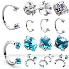 Piercings cristal de oreja